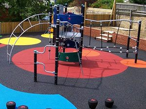 Playsafe® wet pour playground safety surfacing
