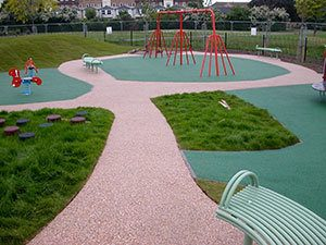 Playsafe® playground safety surfacing