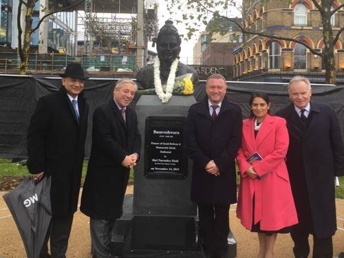 Keith Vaz MP, John Bercow MP, Steve Reed MP, Priti Patel MP and Lord Archer