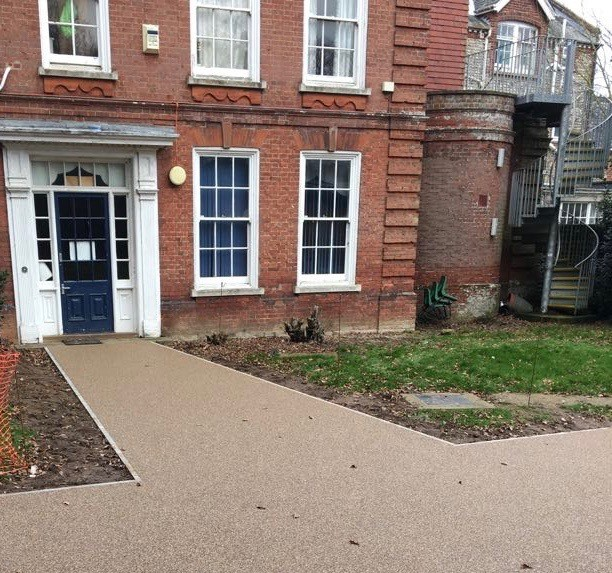 Sidestrand Hall Norfolk Resin Bound Paving